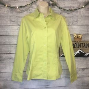 Talbots Long Sleeve Button Down